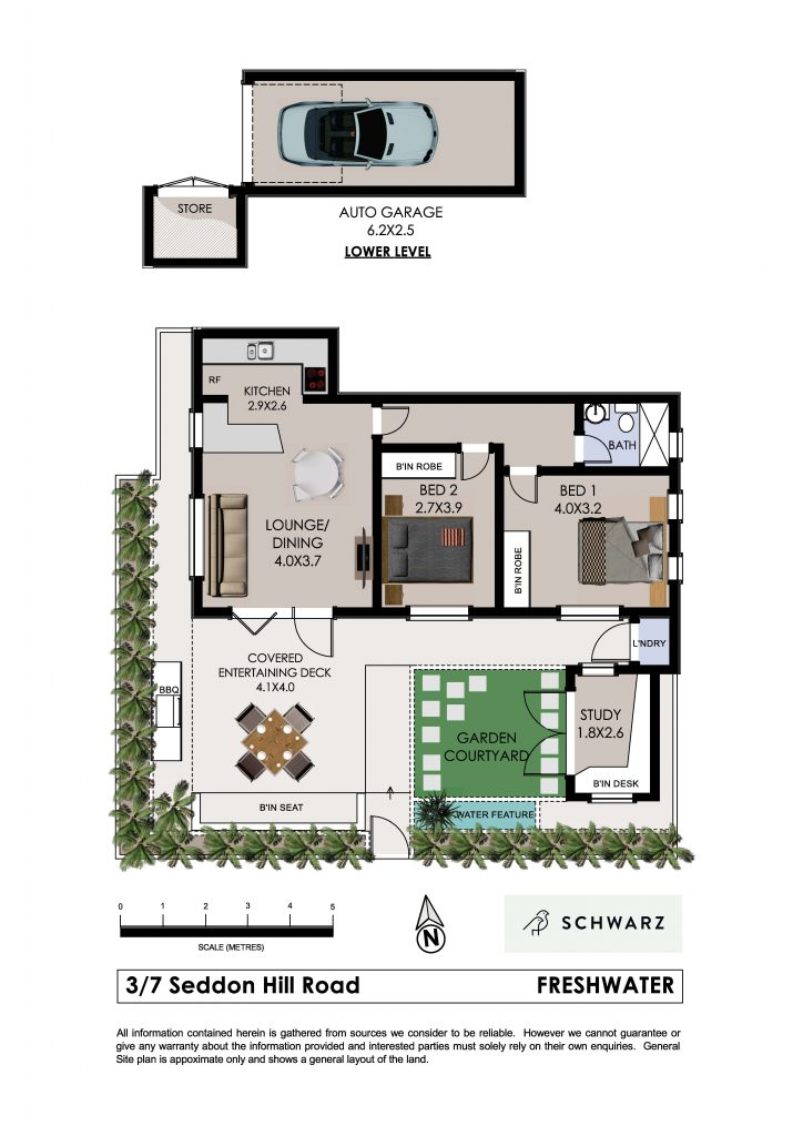 3@7 Seddon Hill Road Freshwater-Floor Plan
