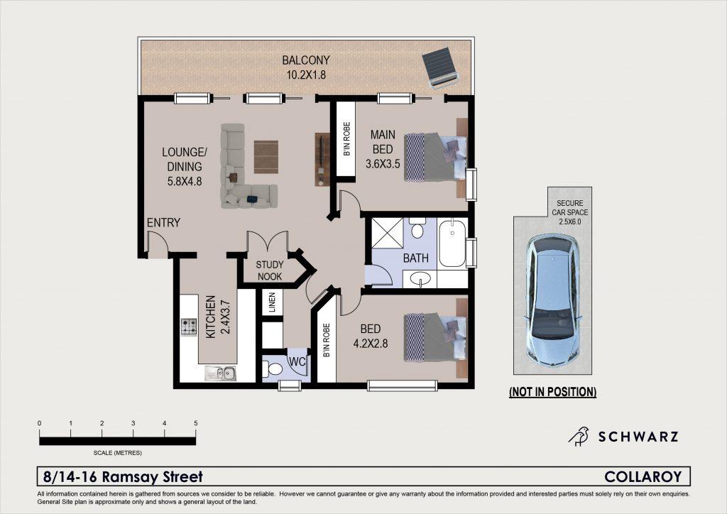 High res floor plan